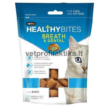 Breath & Dental care - skanėstai katėms skirti burnos ertmės priežiūrai