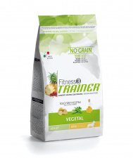 TRAINER Fitness 3 ADULT MINI VEGETAL - augalinis ėdalas šunims be grūdų